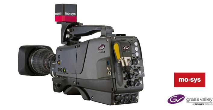 Mo-Sys and Grass Valley Bringing Augmented Reality and Virtual Studio Solution with the Launch of World's First Broadcast Camera with Integrated Camera Tracking at IBC 2017