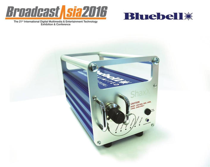 Bluebell Opticom at BroadcastAsia2016
