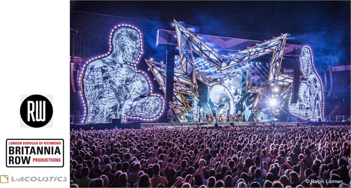 L-Acoustics makes light work of Robbie Williams Heavy Entertainment Show