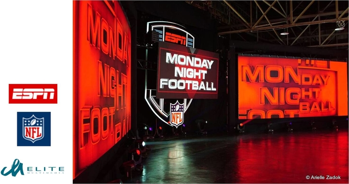 Elite Multimedia brings the grid-iron to the studio with Monday Night Football