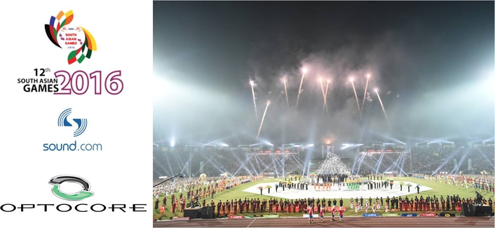 SOUND.COM AND OPTOCORE DELIVER IMPECCABLE SOUND AT SOUTH ASIAN GAMES OPENING & CLOSING CEREMONIES