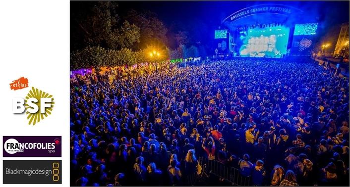Broadcasting The Biggest Belgian Summer Festivals with Blackmagic Design