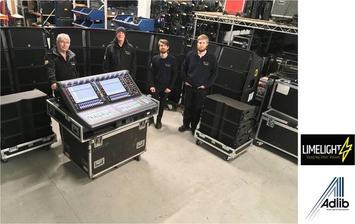 Adlib Puts L-Acoustics & DiGiCo  in the Limelight