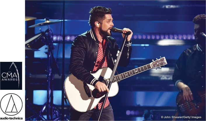 Audio-Technica Provides Microphone Solutions for  CMA Awards for the 24th Straight Year