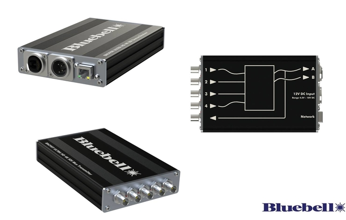 Upgrades to Bluebell BN390 Multiplexer Enable New 4K UHD Conversion Options and Remote Configuration
