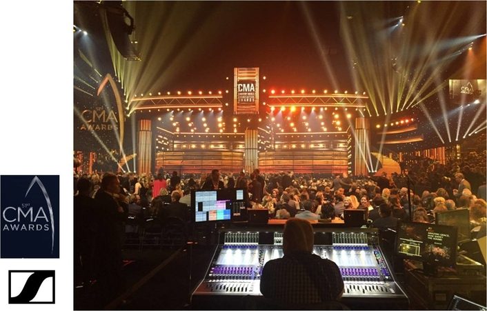 SENNHEISER POWERS MARQUEE PERFORMANCES AT 2017 CMA AWARDS
