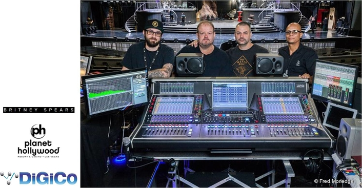 Britney Spears Wraps Up Her Four-Year Vegas Residency at AXIS with DiGiCo