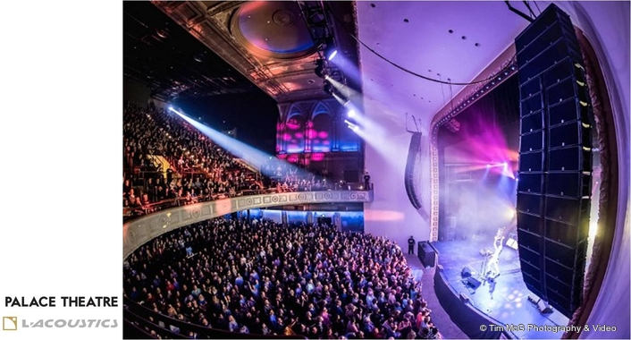 L-Acoustics Makes a Grand Entrance at the Palace Theatre