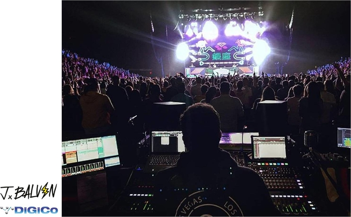 SD10 sounds supreme on J Balvin tour