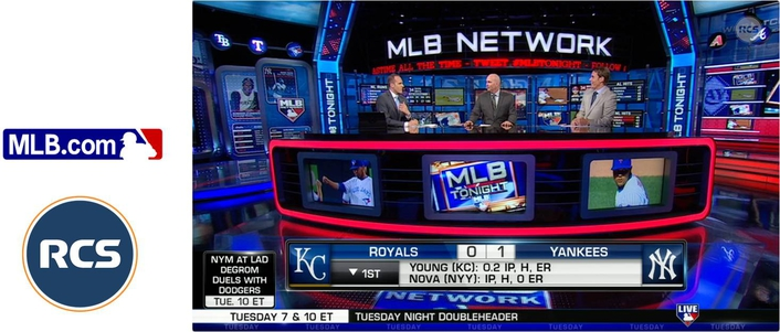 CS Scores Home Run for MLB Network with Data-Driven Graphics Workflow