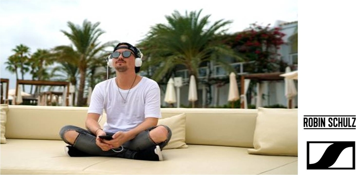 The Ultimate Headphones For Robin Schulz Fans- Sennheiser Unveils A Limited-Edition White HD 25 With The Star DJ´s Signature