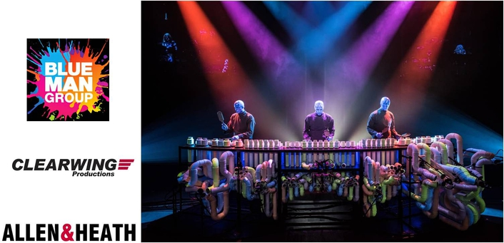 BLUE MAN GROUP UPGRADES MONITOR SYSTEMS WITH ALLEN & HEATH