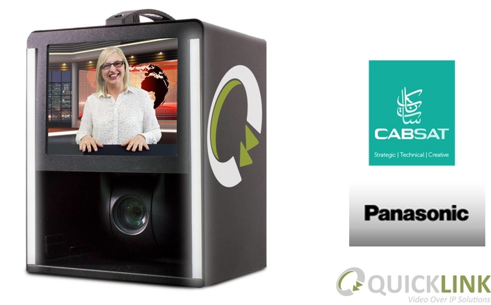 Driving Innovation in your Productions: Quicklink announce the launch of their Studio-in-a-box solution at CABSAT 18