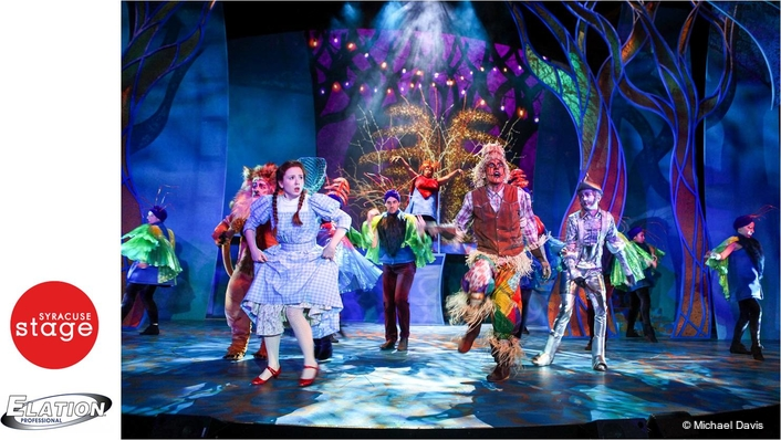 "Artiste DaVinci™ Over the Rainbow on Syracuse Stage's ""The Wizard of Oz"""