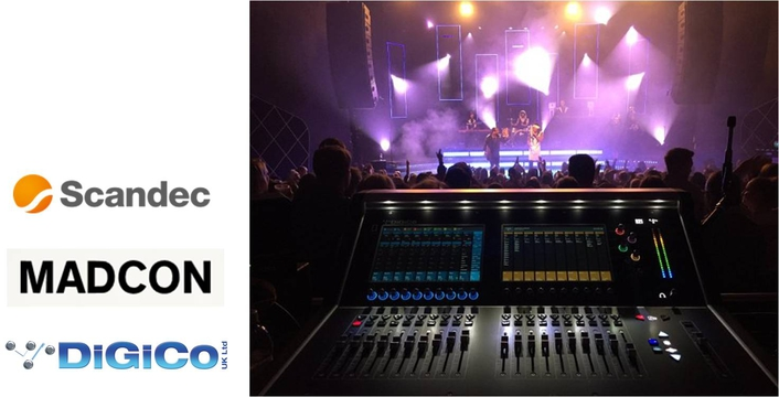 Norwegian rap-artist Madcon tours with DiGiCo S21