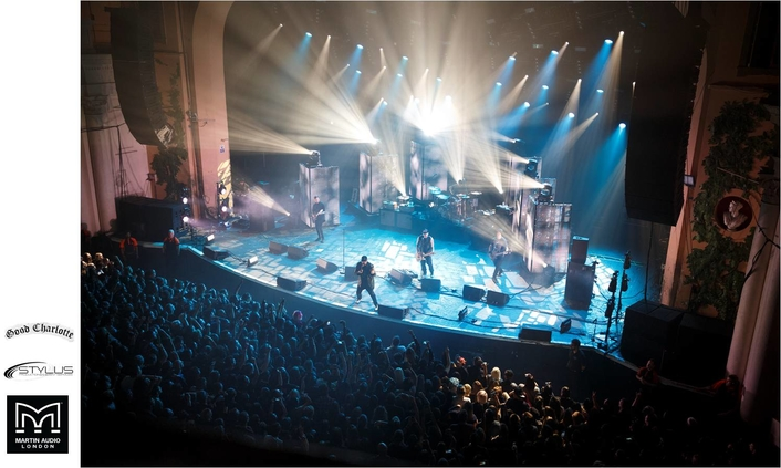 STYLUS PRODUCTIONS FIELD FULL MLA FOR GOOD CHARLOTTE TOUR