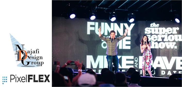 PixelFLEX helps immortalize the moment at Funny or Die