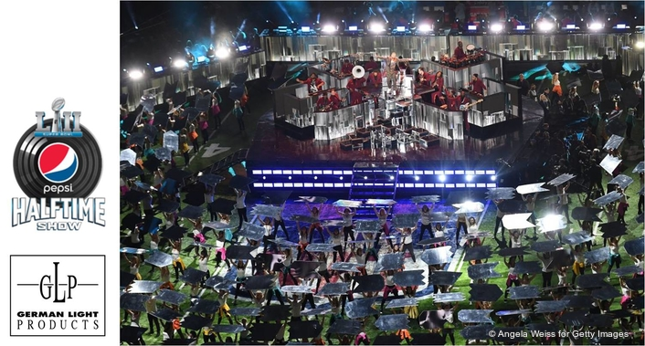 GLP Lighting Out in Force at Pepsi Super Bowl LII Halftime Show