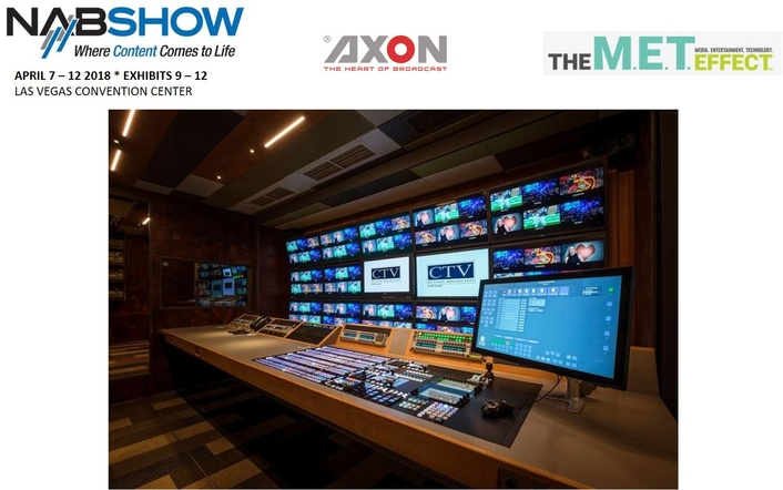 Utah Scientific Demonstrates Axon's IP and UHD Solutions At NAB