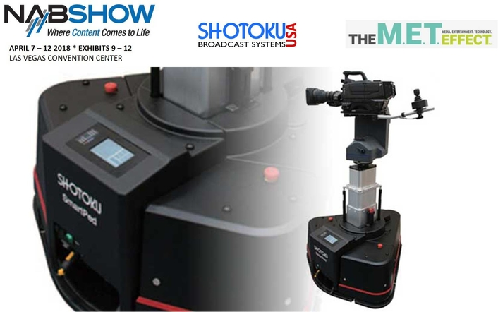 Shotoku USA to Demo SmartPedVR for the First Time at NAB 2018