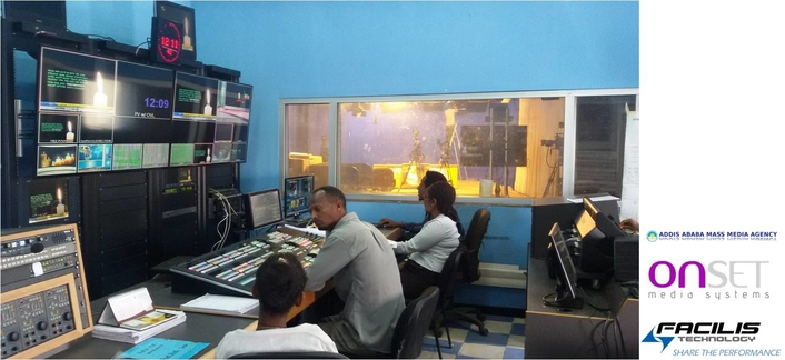 Addis Ababa State TV Places Facilis Shared Storage at Heart of New Digital Production Workflow