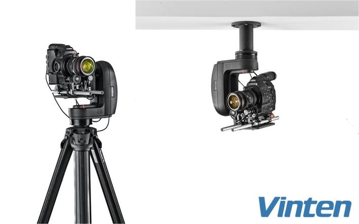 Vinten Introduces Extrerenal Lens Drive For Vantage Robotic Camera Head