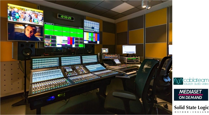 SSL SYSTEM T BRINGS THE FUTURE TO VIDEOTIME