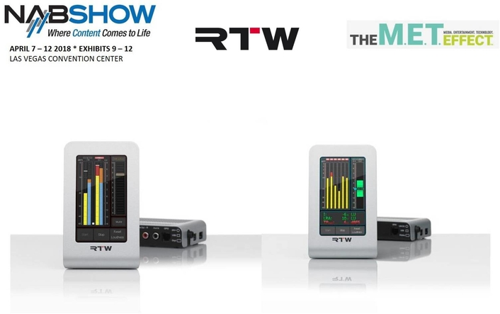 RTW Shows Smart Versions of TM3 and TM3-3G TouchMonitors at NAB2018