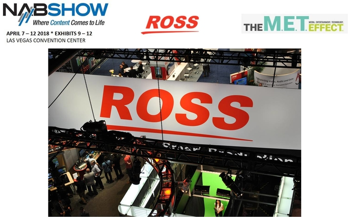 Ross Video Brings Love of Live Production to NAB 2018
