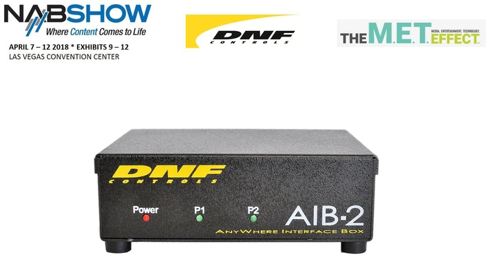 DNF's NAB2018 Line-up Streamlines the Path to Virtual and Cloud-based IP Control for Radio and TV