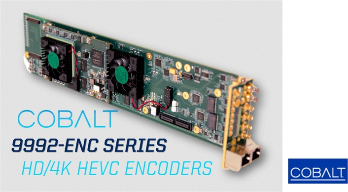 Cobalt Digital Releases Next-Generation HEVC Professional 4K and Multichannel HD/SD Encoder Series