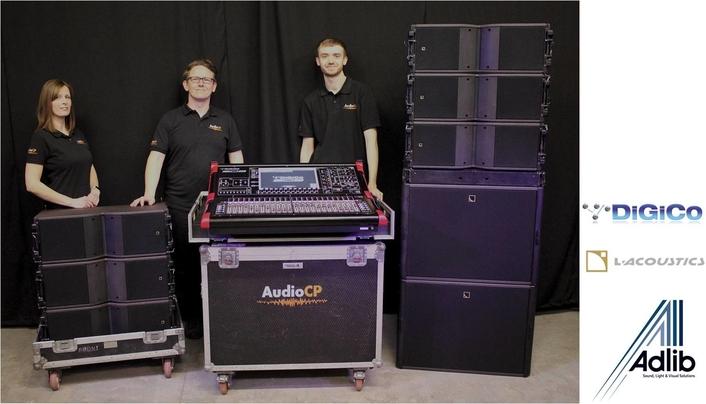 AudioCP Invests in Adlib, L-Acoustics & DiGiCo