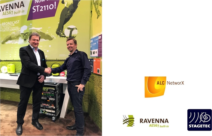 Stage Tec becomes latest RAVENNA Partner