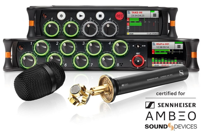 SOUND DEVICES ANNOUNCES NEW VR PARTNERSHIP WITH SENNHEISER