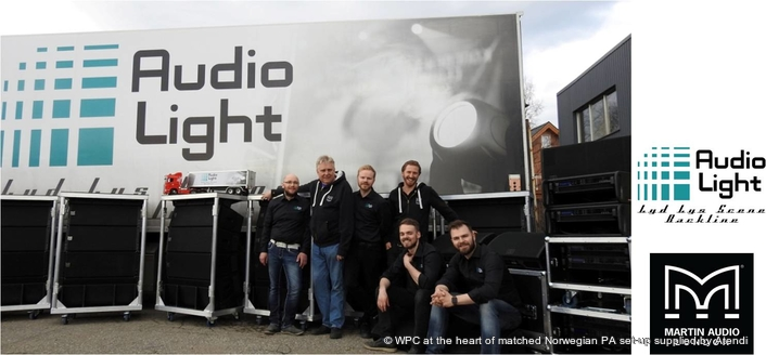 Audiolight´s Major Investment In New Martin Audio Package