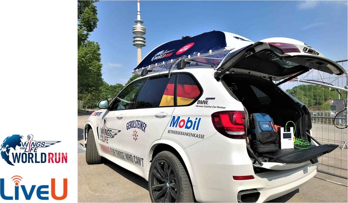 """LiveU Provides Live Coverage of Global Annual """"Wings for Life World Run"""""""