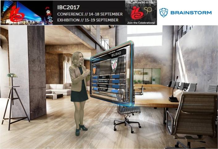Brainstorm at IBC 2017