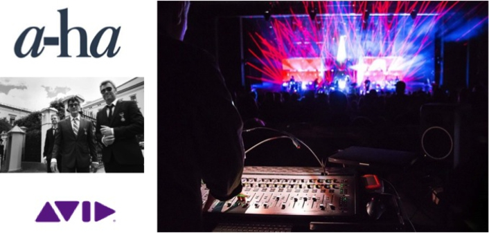 a-ha Take On International Tour With Award-winning Avid VENUE | S6L