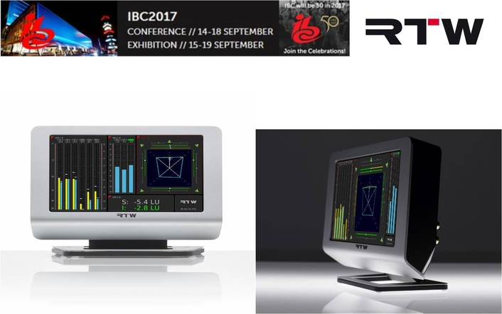 RTW SHOWS NEW FEATURES FOR TM7 AND TM9 AT IBC