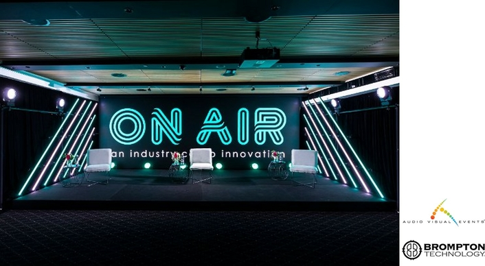 AVE chooses Brompton processing for state-of-the-art ON AIR studio