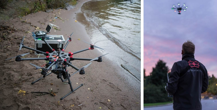 VIDEO DEVICES' PIX-E5 TAKES FLIGHT WITH HELIFILM DRONE TO CAPTURE SPECTACULAR IMAGES OVER SCANDINAVIA