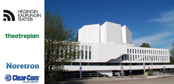 HELSINKI CITY THEATRE SELECTS FULLY INTEGRATED WIRED AND WIRELESS SOLUTION FROM CLEAR-COM