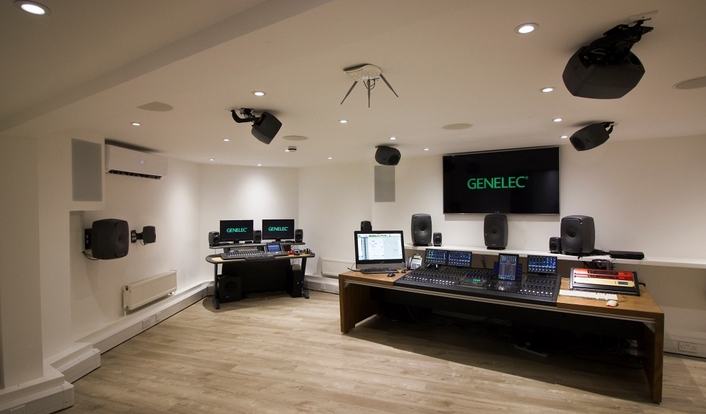 HHB Group and Genelec unveil world's first Genelec Experience Centre