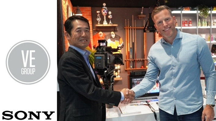 IBC showfloor deal: Video Europe orders 30 flagship camcorders from Sony