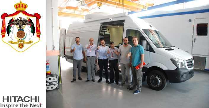 Hitachi Turkey Delivers New SNG Uplink Vehicle to Jordan Radio and Television
