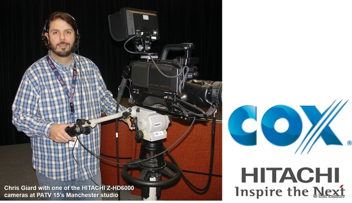Cox Connecticut Public Access Drives Community TV Forward with HITACHI HDTV Cameras
