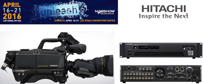 Hitachi Kokusai to Unveil New High-Speed, Slow-Motion, Multi-Format Camera at 2016 NAB Show