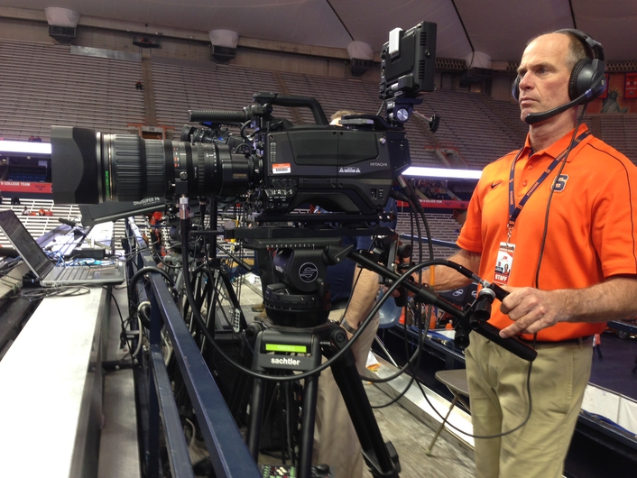 Hitachi Z-HD5000 HD Cameras Ignite Live Sports Production for Syracuse University