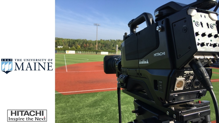University of Maine Brings Live Sports Streams to ESPN3 and Social Media with HITACHI HDTV Cameras