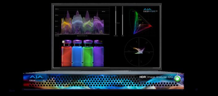 AJA Unveils HDR Image Analyzer 12G at IBC2019